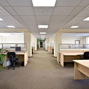 Luminaires de bureaux & industriels